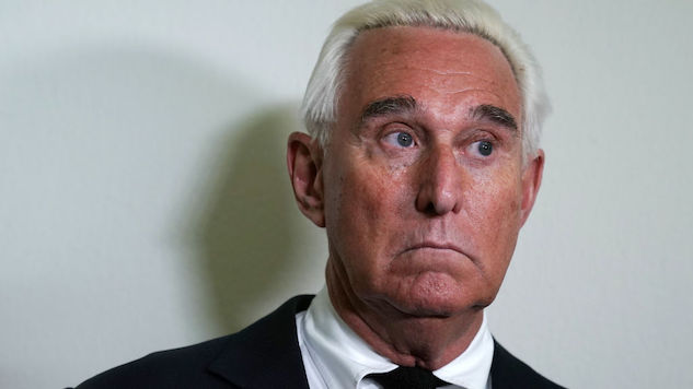 Roger Stone Admits to Spreading Misinformation on <i>InfoWars</i>, Forced to Publicly Apologize