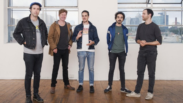 "Rolling Blackouts Coastal Fever Share ""An Air Conditioned Man"" Lyric Video"