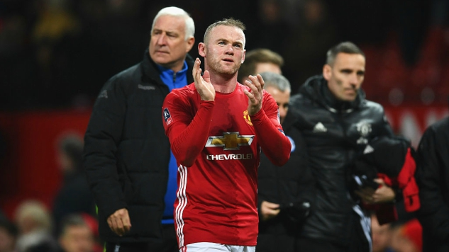 Wayne Rooney's Position At Manchester United Got Very Tenuous Very Quickly