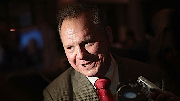 Republican Senate Nominee Roy Moore Accused of Sexually Abusing a 14-Year-Old Girl