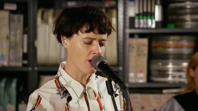 Watch Rubblebucket's Spirited Art-Pop Set in the Paste Studio