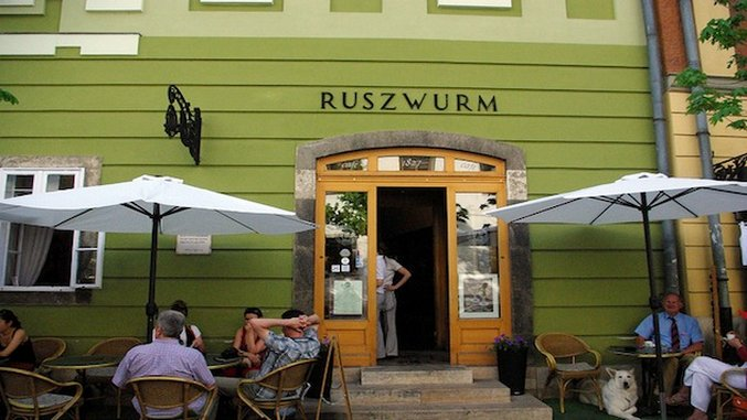 Take Five: Historical Budapest Cafes