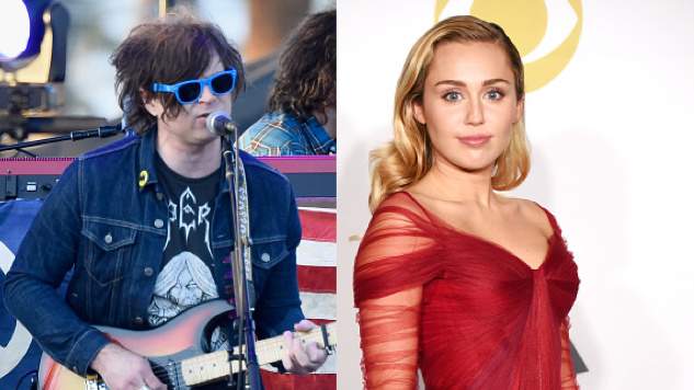 Ryan Adams Was Recently In The Studio With ... Miley Cyrus?