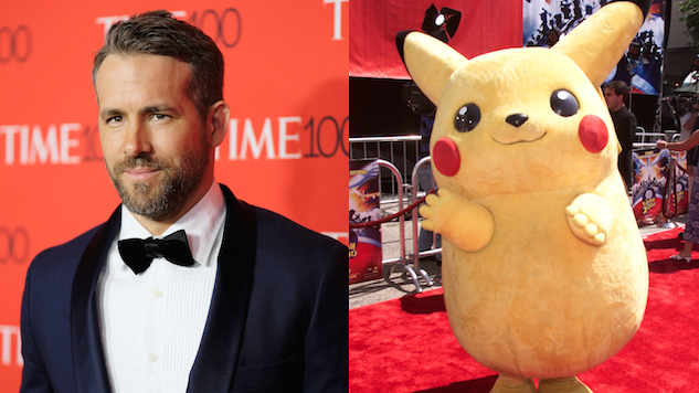 Ryan Reynolds Will Play the Titular Pokemon, Detective Pikachu (Seriously)