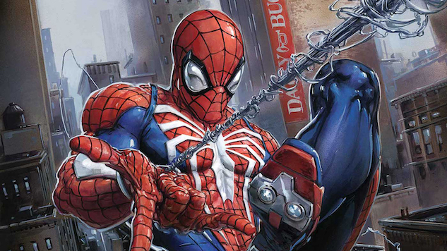 Sony's PS4 <i>Spider-Man</i> Swings Onto Comic Stands Next Year