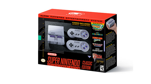 SNES Classic Micro Console Preorders to Open This Month