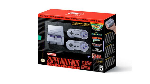 Nintendo Announces Super Nintendo Classic