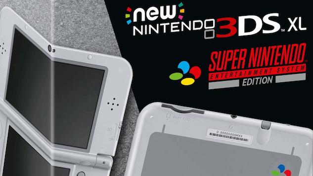 Nintendo Announces SNES-Themed New Nintendo 3DS XL for Europe