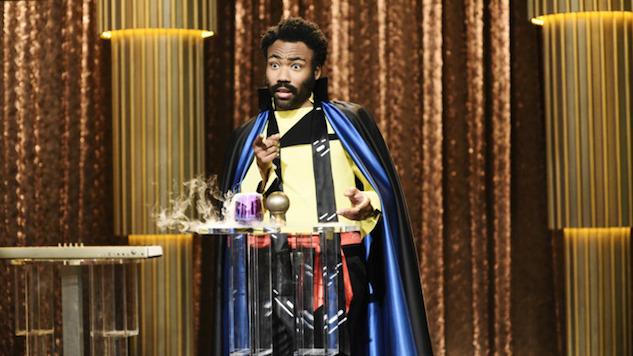Donald Glover Was Hit-or-Miss in an Extremely Bland <i>Saturday Night Live</i>