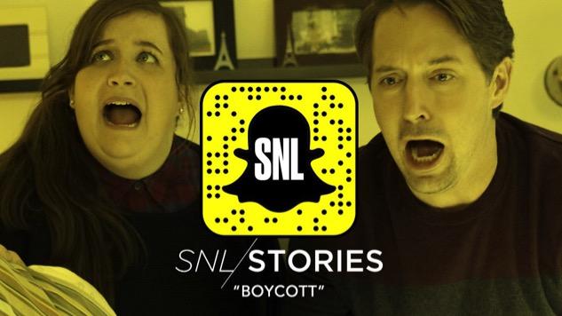 "<i>Saturday Night Live</i> Debuts First Snapchat Show, ""Boycott"""