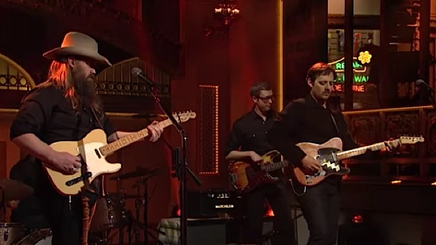Watch Sturgill Simpson Join Chris Stapleton on 'SNL'