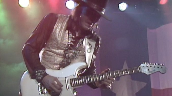 "Watch Stevie Ray Vaughan Tear Through ""Couldn't Stand the Weather"""