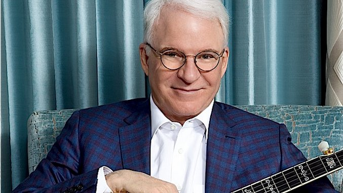 Exclusive: Steve Martin Talks About His New Album and How He Tells Stories in Song