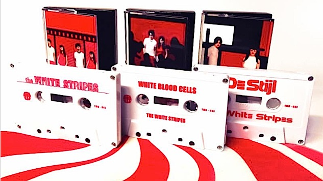 White Stripes to Reissue First Three Albums—on Tape