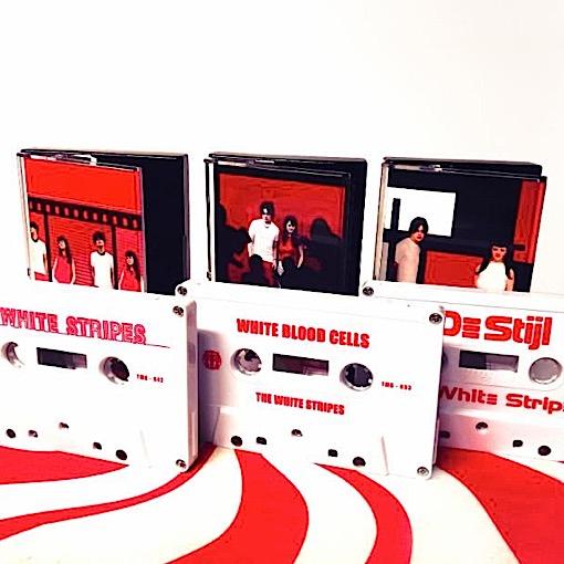 White Stripes to Reissue First Three Albums—on Tape