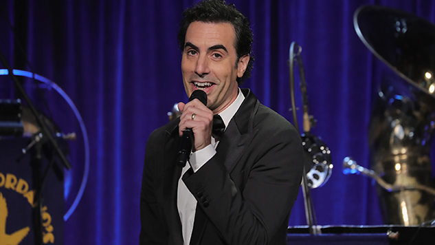 Sacha Baron Cohen Is Going Back to School ... with Donald Trump