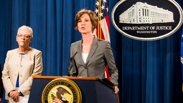 Former Acting AG Sally Yates Was Scheduled to Speak in Canceled House Intel Meeting