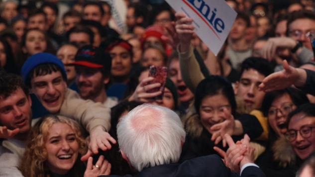 In Iowa, Bernie Sanders's Student Warriors Are Fighting for History
