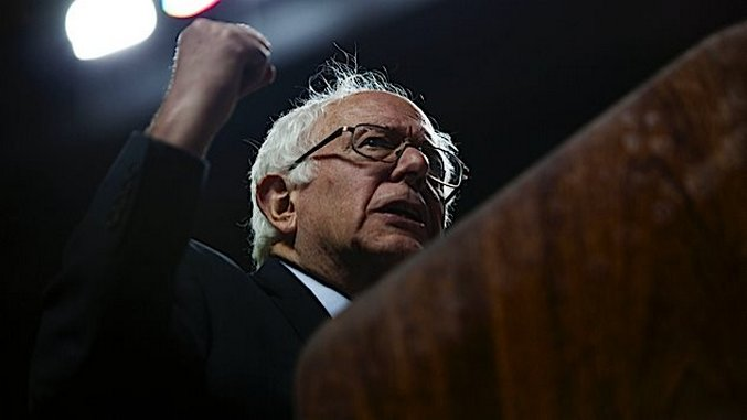 Bernie Sanders Becomes the First Major Candidate to Call For a Charter School Ban