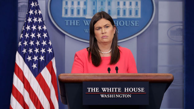 Sarah Huckabee Sanders Responds to Reports She's Leaving the White House