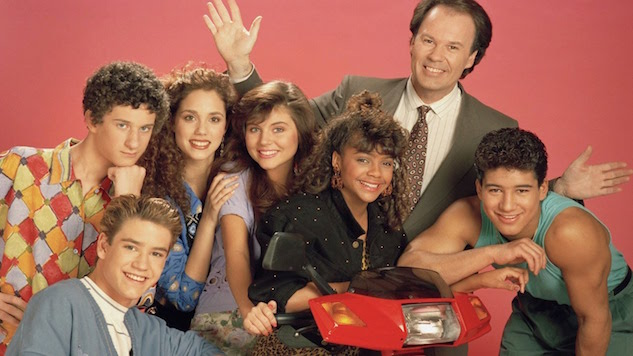 <i>Saved by the Bell</i> Executive Producer Peter Engel Is One Proud TV Papa