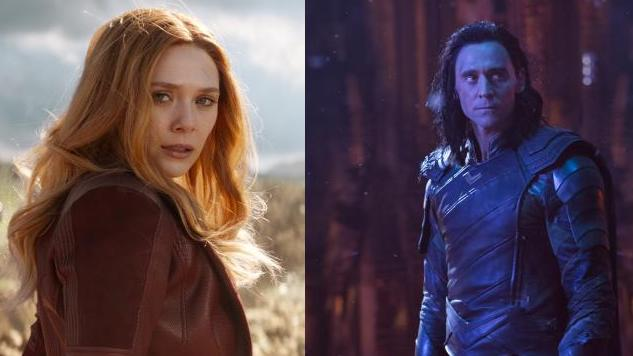 Scarlet Witch and Loki to Star in Their Own TV Series