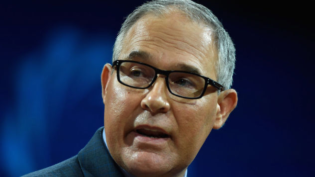 Scott Pruitt to Repeal Obama-Era Policy Curbing Greenhouse Gas Emissions