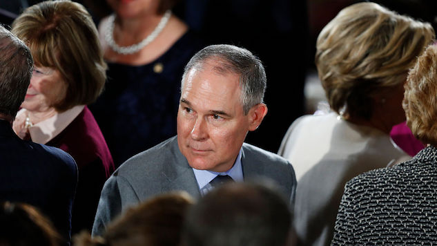 "Scott Pruitt May Have Violated Federal Law by ""Scrubbing"" Controversial Meetings from His Public Schedule"