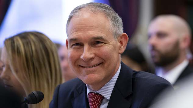 Scott Pruitt, the One Man Too Unethical Even For Trump, Resigns as EPA Chief