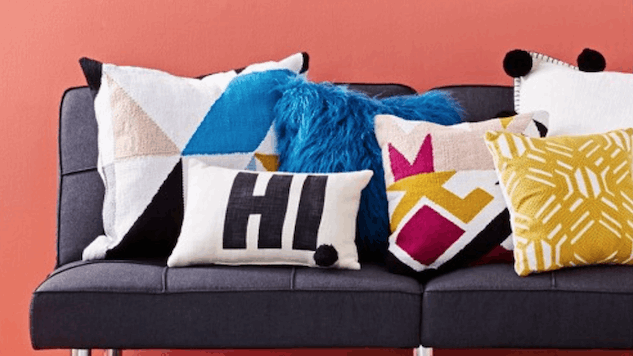Bright Throw Pillow That'll Add Some Pizzazz to Your Old Couch