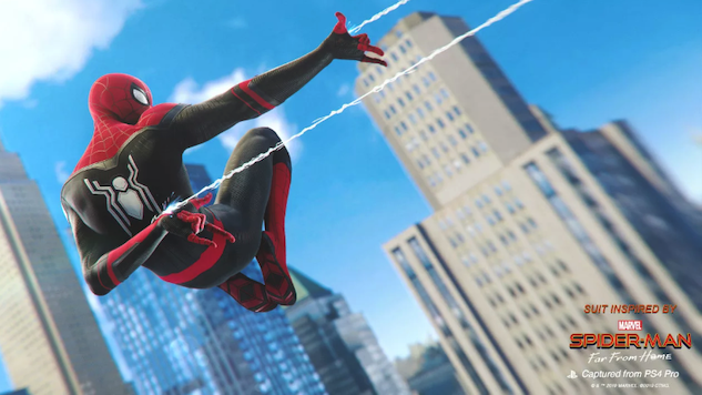 Insomniac Adds Two <i>Spider-Man: Far From Home</i> Suits to <i>Marvel&#8217;s Spider-Man</i>
