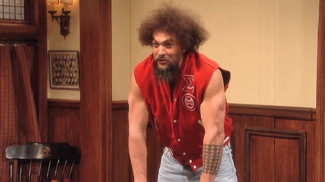Jason Momoa's Too Charming to Fail on <i>Saturday Night Live</i>