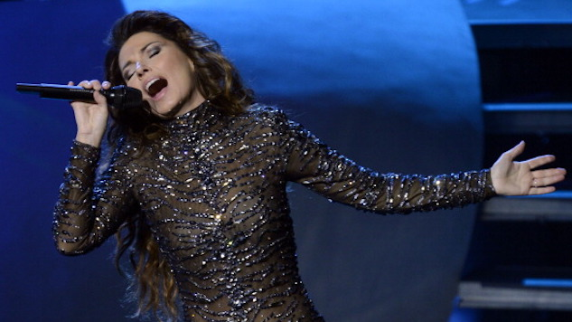 "Hear Shania Twain ""Rock This Country!"" on This Day in 1999"