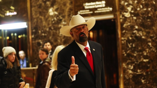 Honest Question: How is Sheriff David Clarke a Real Human Being?