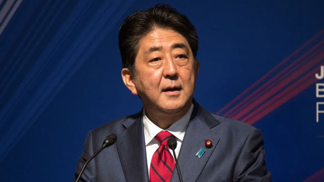 "Japanese Prime Minister Shinzo Abe Supports U.S. Pursuing ""All Options"" in North Korea"