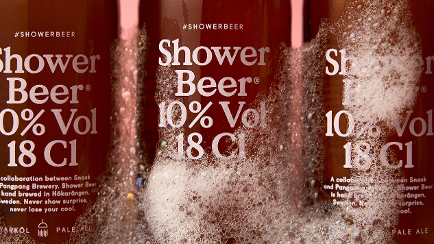 This Beer is Specifically Meant for Shower Drinking