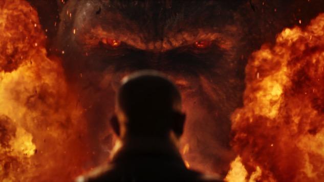 The Japanese Poster for <i>Kong: Skull Island</i> is Completely Bonkers