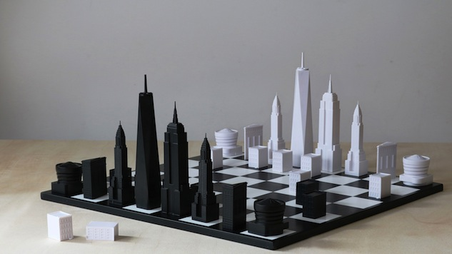 London Based Architects Behind Skyline Chess Introduce New York City Edition