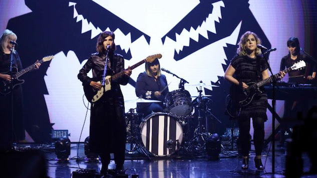 Watch Sleater-Kinney Make Their Formidable Late-Night Return on <i>The Tonight Show</i>