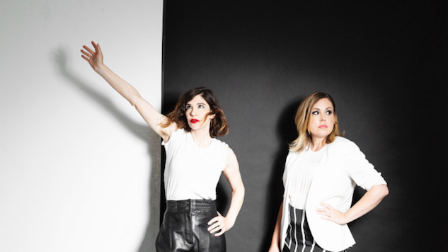 "Sleater-Kinney's New Single ""Can I Go On"" Is a Cheerful Take on Self-Annihilation"