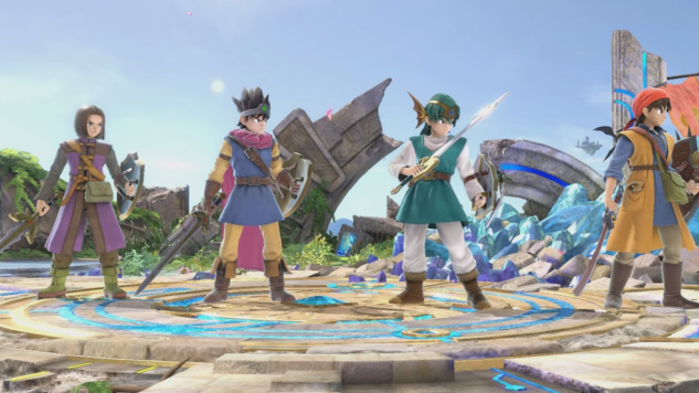 <i>Dragon Quest</i>'s Hero Is Coming to <i>Super Smash Bros. Ultimate</i> Today