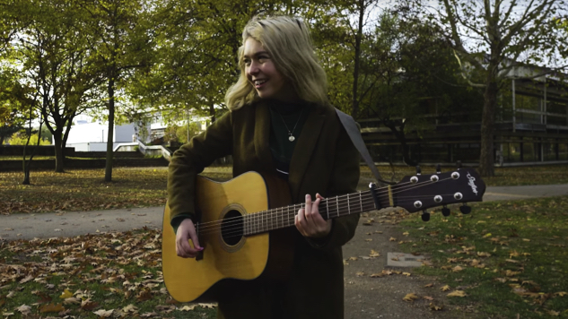 "Watch Snail Mail Perform ""Heat Wave"" Live While Walking Through a Park"