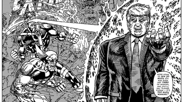 Check Out These Horrifying and Amazing <i>The Unquotable Trump</i> Comic Book Covers by R. Sikoryak