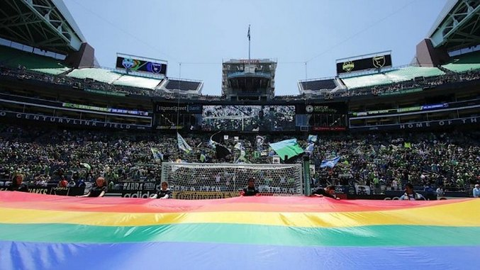 Seven MLS/NWSL Soccer Teams Celebrating Pride