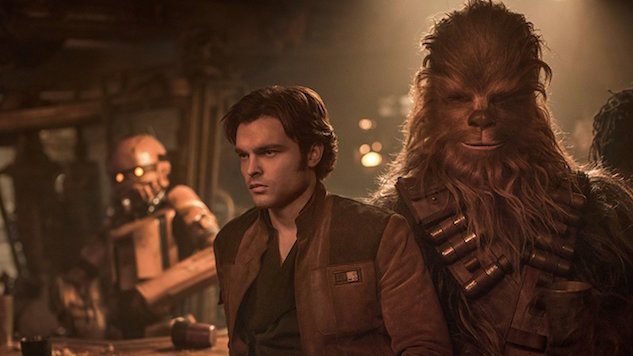 <i>Solo</i> Flies Well Below Projections with $103M Over Four-Day Weekend