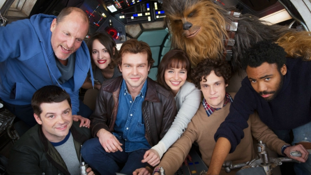 First Han Solo <i>Star Wars Story</i> Cast Photo Revealed as Film Begins Production