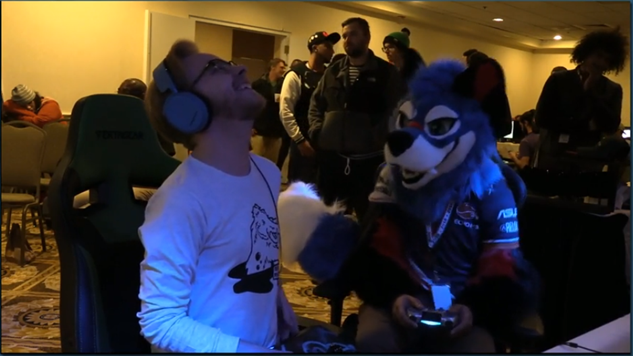 Evo Champion SonicFox Takes Home Two Titles in Full Fursuit at Clutch 2018