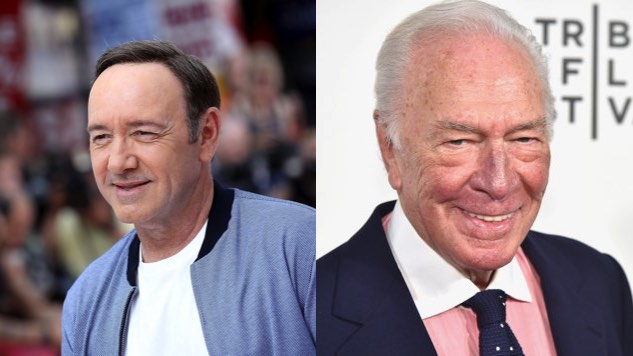 Christopher Plummer to Replace Kevin Spacey in Ridley Scott's <i>All the Money in the World</i>