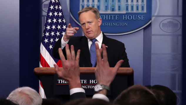 This Photo Should End Sean Spicer's Dignity Issues Once and For All