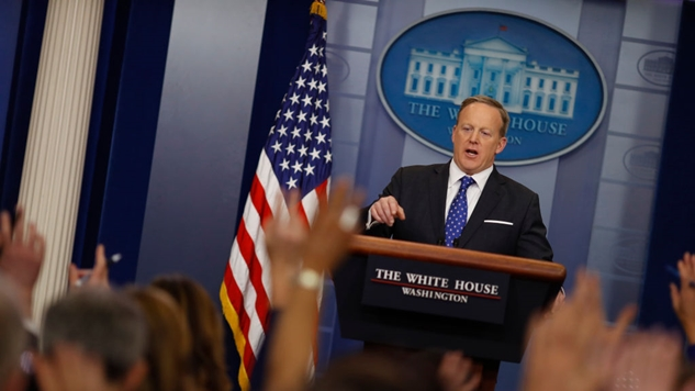 Meltdown: Things are not going well for Sean Spicer's Press Office